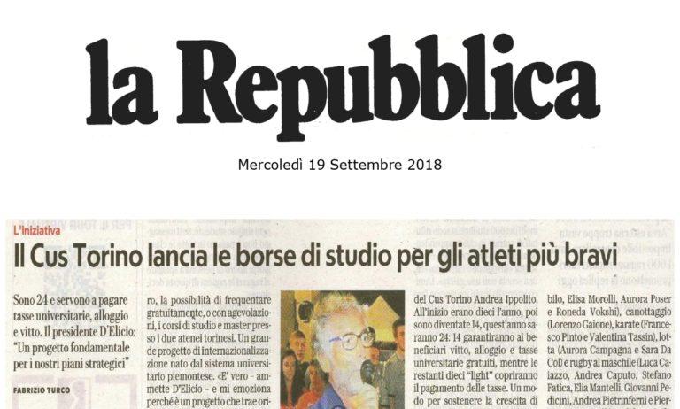 La Repubblica parla del Progetto AGON