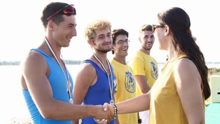 Canottaggio: ai Campionati Nazionali Universitari di Ravenna l'atleta AGON Lorenzo Gaione ottiene due medaglie