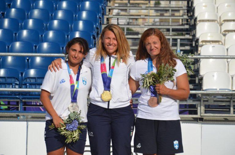 Giochi Mediterraneo: ORO nel beach wrestling per l'atleta AGON Sara Da Col
