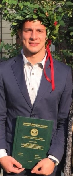 L'AGON Luca Caiazzo laureato in Scienze Motorie!
